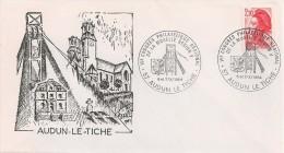 France - Enveloppe - Mine Charbon - Audun Le Tiche - 1984 - Lettres & Documents