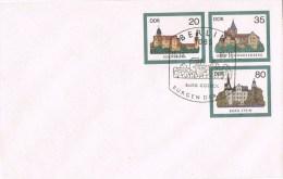 12836. Carta Entero Postal 3 Valores BERLIN (Alemania DDR) 1985. Burg Gosek - [6] República Democrática