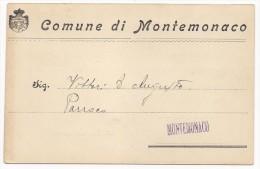 Comune Di Montemonaco - Ascoli Piceno - HP945 - Ascoli Piceno