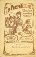 """Fascicule Explicatif 16 Pages 24x16,5cm """"La Perpétuelle"""" Boite Pour Conserves Alimentaires - Alimentaire"""