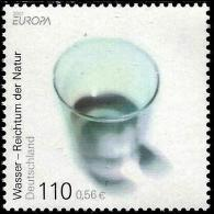 Germany - 2001 - Europa CEPT - Water - Mint Stamp - [7] República Federal