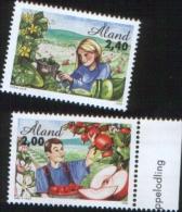 Aland 1998 Agriculture - Agricoltura 2v Complete Set   ** MNH - Aland