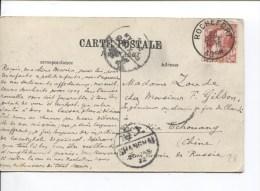 TP 74 S/CP De Rochefort C.Rochefort En 1908 V.(Chan-Li)via Tchouang Chine PR2138 - 1905 Grosse Barbe