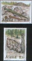 Aland 1999 Archeology Bronze Age - Archeologia Oggetti Dell'età Del Bronzo 2v Complete Set   ** MNH - Aland