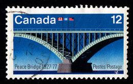 CANADA - Scott #737 Opening Of Peace Bridge, 50th Anniv. (*) / Used Stamp - Ponti