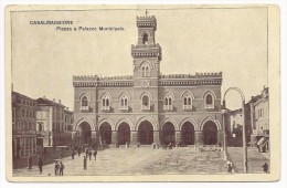 Casalmaggiore - Piazza E Palazzo Municipale - Cremona - HP955 - Cremona