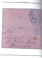 LOS FERROCARRILES ARGENTINOS RAMALES, ESTACIONES E HISTORIA POSTAL 2 TOMOS 1857-1872 NUEVO  MARTIN HORACIO DELPRATO - Matasellos