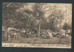 BURGHT.  Le Jardin Lusthof. Belle Animation. Voyagée En 1913.  2 Scans. - Zwijndrecht