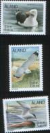 Aland 2000 - Birds - Uccelli Marini  3v Complete Set   ** MNH - Aland
