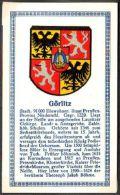 Abdulla Cigarettes - Deutsche Städtewappen 1928. Trade Card/Sammelbild 6x10 Cm : Görlitz - Cigarette Cards