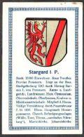 Abdulla Cigarettes - Deutsche Städtewappen 1928. Trade Card/Sammelbild 6x10 Cm : Stargard In Pommern - Cigarette Cards
