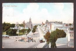 AS669) Bendigo - Pall Mall - Posted From Stawell - 1906 - Bendigo