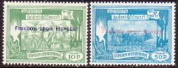 BURMA 1963 Mi #174-75 Compl.set MLH OG Freedom From Hunger - Myanmar (Burma 1948-...)
