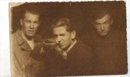 CPA Photo Tir à La Fête Foraine 1946 Concours De Tir - Photographie