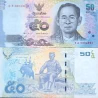 Thailand, 50 Baht, Pick 120, Sign. 83, 2012, UNC ! - Thailand