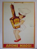 CPM - MAGGI - Enfant Fillette Petite Cuisinière - Advertising