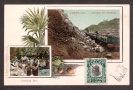 PA29) Washing Day & Culebra Cut - 1908 - Panama