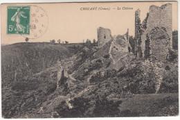 CPA Crozant, Le Château (pk18233) - Crozant