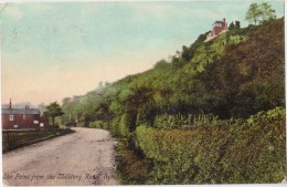 CPA Colorisée - RYE - The Point From The Military Road - 1908 - Rye