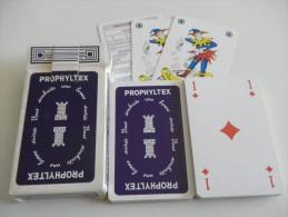 jeu de 52 cartes � jouer  - PROPHYLTEX