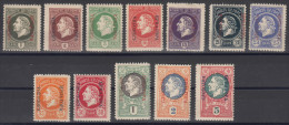 Montenegro Gaeta 1905 - King In Exile Issues, Without Porto Stamps Mint Never Hinged - Montenegro