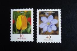 Allemagne Féd. - Année 2005 - Tulipe 10c Et Hépatique 40c- Y.T.  2309/2310 - Neufs (**) Mint (MNH) Postfrisch - [7] República Federal