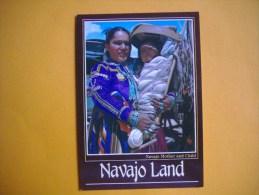 Cpm  NAVAJO LAND  -  Navajo Mother And Child  -  Arizona  -  Uthat  - Nouveau Mexique - Non Classés