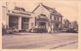 Temploux  Station De L'aérodrome Etablissements F.Delvaux Carte Festonnée N´a Pas Circulée - Yvoir