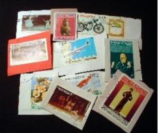 Nicaragua KILOWARE StampBag 250g (8½oz) Manufactured* Stamp Mixture      [vrac Kilowaar Kilovara] - Nicaragua
