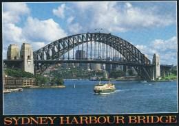 Postcard - Sydney Harbour Bridge, New South Wales, Australia. 443 - Sydney