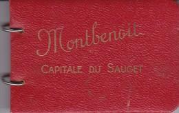 DOUBS MONTBENAOIT CAPITALE DU SAUGET CARNET - France