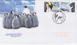 AAT 2000 Penguins 2v FDC (F3264) - FDC