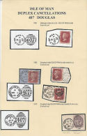 GB: Victoria: Isle Of Man Duplex Cancellation 407 Douglas Cancels, 1857 Onwards - Isle Of Man