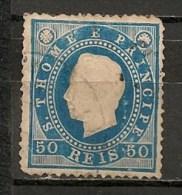 Timbres - Portugal - St Thomas Et Prince - 1887 - 50 Reis - - St. Thomas & Prince