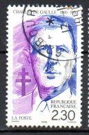 FRANCE. N°2634 De 1990 Oblitéré. Général De Gaulle. - De Gaulle (General)