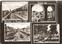 1167/FG/15 - S. MARTINO IN PENSILIS (CAMPOBASSO) - Vedutine - Campobasso