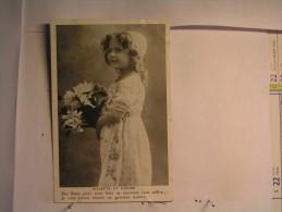 Enfant - Petite Fille - Fillette Et Fleurs - Abbildungen