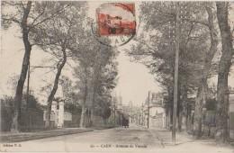 CPA 14 CAEN Avenue De Venoix 1908 - Caen