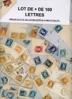 LOT DE + DE 100 LETTRES PERIODE PC ET GC JOLI LOT MAJORITE N°14 PRIX ATTRACTIF .  A ETUDIER. POIDS 300 GRAMMES SANS EMBA - Postmark Collection (Covers)