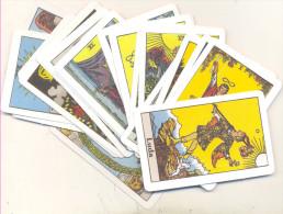 TAROT CARDS ,BIG ARCANA 22 PCS EXCELENT QUALITY RARE