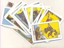TAROT CARDS ,BIG ARCANA 22 PCS EXCELENT QUALITY RARE - Tarocchi