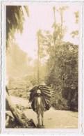 RARE  TRANSORT  A DOS D HOMME - Equateur