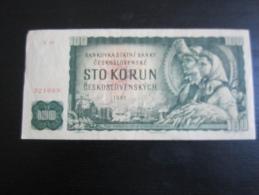 Billet Tchecoslovaquie 100 Korun, 1961 (X 39) - Cecoslovacchia