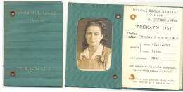 OSTRAVA VYSOKA SKOLA BANSKA V OSTRAVE (8  PAGES) - Diploma's En Schoolrapporten