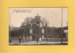 * CPA..dépt 77..BARBIZON :   Villa Bellevue - H . Bouvard , Propriétaire   : Voir Les  2 Scans - Barbizon