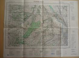 Carte De France Au 1/50 000 - Haute Garonne - Toulouse-Ouest    - Feuille XX-43  -  Février. 1973 - Cartes Géographiques