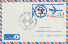 POZNAN - 1980 , Kopernikus  , Air Letter - Astrologie