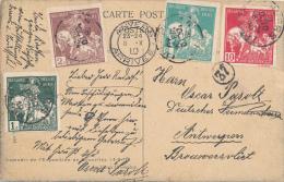 ANVERS - 1910 , Tuberlusoe , Weltausstellung - 1910-1911 Caritas