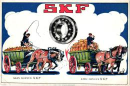 5 CP PUB SKF     Roulements à Billes     Bruxelles      Litographie De Rycker - Publicidad