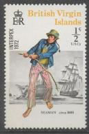 Isole Vergini Virgin Islands 1972 - Uniformi Marine Storiche  Historical Marine Uniforms MNH ** - British Virgin Islands